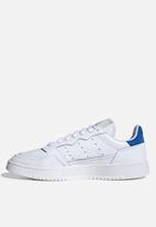 adidas Originals - Supercourt - ftwr white/ftwr white/blue