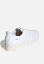 adidas Originals - Superstar - white / off white / green