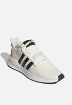 adidas Originals - U_path run - off white/core black/shock red