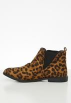 STYLE REPUBLIC - Teana ankle boot - brown
