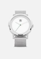 adidas - District m2 - silver / white / green