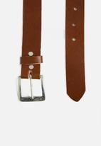 Superbalist - Dean leather belt - brown