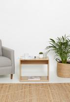 Sixth Floor - Emery side table - natural