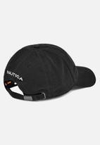 Nautica - 6 Panel cap - black