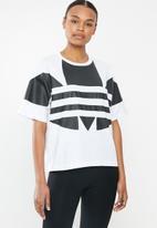 adidas Originals - Large logo tee - white