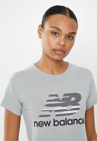 New Balance  - Classic speed tee - grey