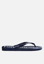 Havaianas - Top logo mania - navy blue