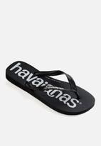Havaianas - Top logo mania - black
