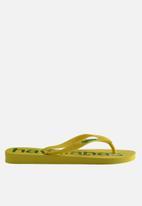 Havaianas - Top logo mania - citrus yellow