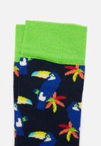 Happy Socks - Toucan socks - multi