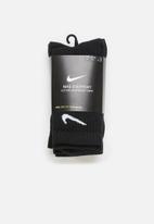 Nike - Everyday lightweight socks - black