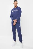 lotto - Smart sweat crew logo - navy