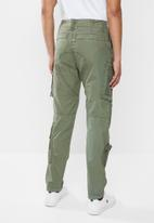 G-Star RAW - Arris straight tapered jeans - green