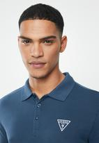 GUESS - Short sleeve fashion polo - voy blue