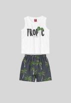 Bee Loop - Tank top & shorts set - multi