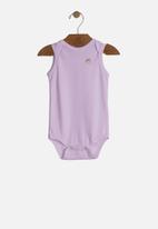 UP Baby - Girls bodysuit - light purple