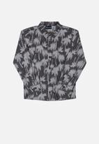 Quimby - Printed shirt - grey