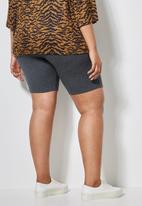 Superbalist - 2 Pack cycle shorts - black & grey