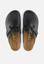 Birkenstock - Boston smooth leather narrow - black