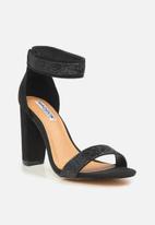 Madison® - Glamour valora heel - black