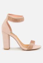Madison® - Glamour valora heel - blush pink