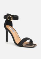 Madison® - Glamour serlina heel - black