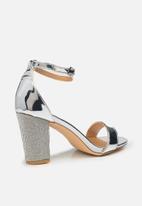 Madison® - Glamour Thalia heel - silver