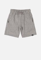 Quimby - Teen boys bermuda shorts - grey