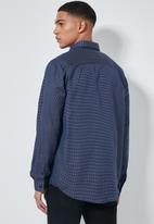 Superbalist - Barber regular fit long sleeve oxford shirt - navy