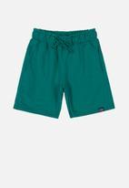 Quimby - Teen boys bermuda shorts - green