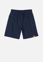 Quimby - Teen boys bermuda shorts - navy