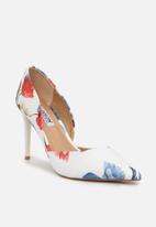 Madison® - Iniko court - white & blue floral