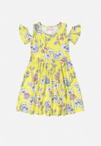Quimby - Girls floral dress - multi