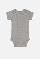 UP Baby - Baby bodysuit - grey