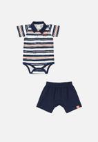 Quimby - Bodysuit & shorts set - multi