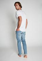 Cotton On - Tapered leg jean - mid blue