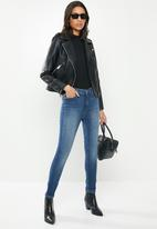 GUESS - Power skinny low rise jeans - blue