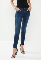 GUESS - High rise skinny - navy