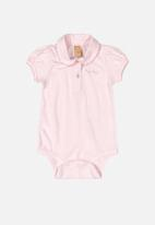 UP Baby - Girls bodysuit - pink