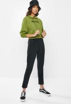 Vans - Strait out turvy hoodie - green