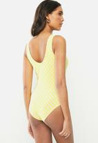 Vans - Quantum bodysuit - lemon