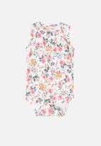 UP Baby - Floral bodysuit - multi