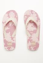 G-Star RAW - Dend aop flip flops - pink