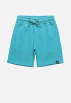 Quimby - Boys sweat shorts - blue