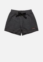Quimby - Girls sweat shorts - dark grey