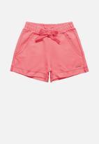 Quimby - Girls sweat shorts -pink