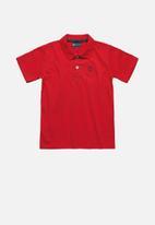 Quimby - Boys polo shirt - red