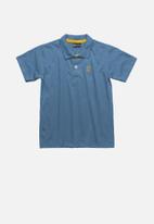 Quimby - Boys polo shirt - blue