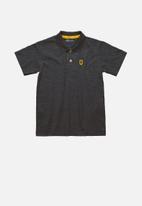 Quimby - Boys polo shirt - dark grey