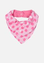 UP Baby - Polka dot bib - pink